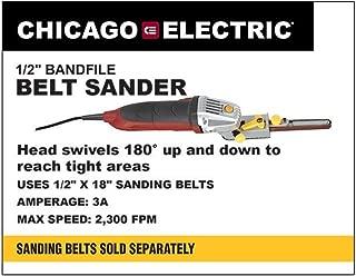 5.3 Amp 1/2 in. Heavy Duty Bandfile Belt Sander New 90 Day Warranty