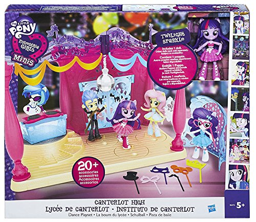 MY LITTLE PONY B6475EU40 Equestrian Girls Minis Canter Lot High Dance Playset With Doll