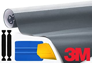 3M 1080 Gloss Anthracite Air-Release Vinyl Wrap Roll Including Toolkit (6ft x 5ft)
