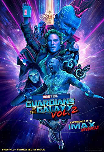 Guardians of the Galaxy Vol. 2 IMAX POSTER 13x19 Inch Movie Poster