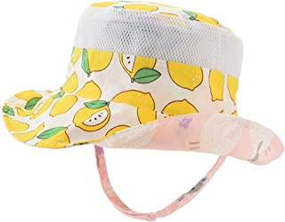 Baby Sun Hat Double Sides - Toddler Sun Hat UPF 50+ Kids Summer Play Bucket Cap