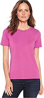 Pendleton Women's Petite Short Sleeve Rib Tee