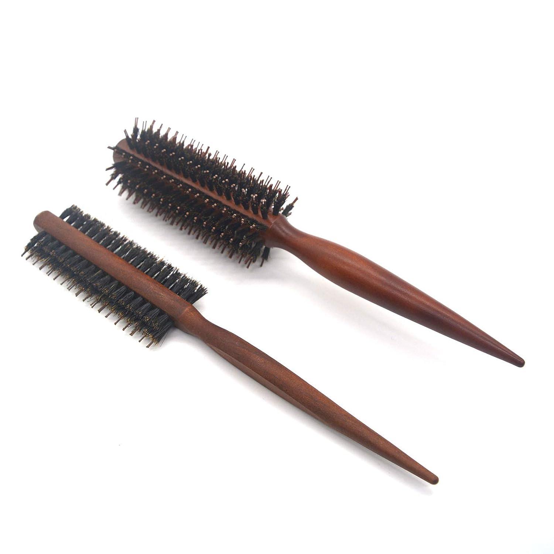 LEYMIGA Brand Cheap Sale Venue Boar Portland Mall Bristle Round Wooden Set Brush Nylon