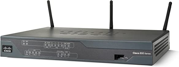 Cisco 881W Wireless Integrated Services Router - IEEE 802.11n - 3 x Antenna - ISM Band - 54 Mbps Wireless Speed - 4 x Network Port - 1 x Broadband Port - USB Desktop