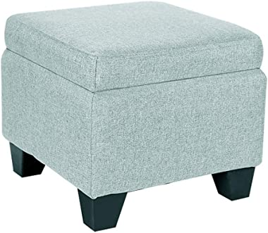 Foot Stool Storage Ottoman Sofa Stool Shoe Stools Small Footstools Fabric Foot Rest Stool Children Box Toy Chest Living Room