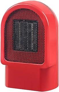 Vosarea Silencioso Mini Radiador eléctrico Ventilador de Aire Caliente Vertical Ventilador de Escritorio de Oficina de Piso con Enchufe de la UE