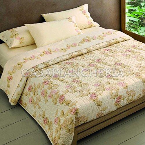 Gabel Naturae Karité Tagesdecke für Doppelbett