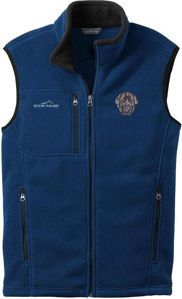 Cherrybrook River Blue Dog Breed Embroidered Mens Eddie Bauer Vest (All Breeds)