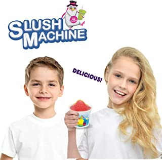 Amav Toys Slush Machine Maker - Make Your Own Homemade Slush Multi Color with Your Kids - Best Activity for Friends To Do Together - Perfect Present For Kids Aged 5+