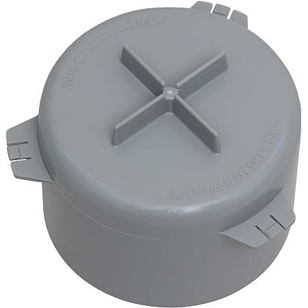 Belca 排水口 排水トラップ 防臭ワン 取替用 十字型 直径9.7×高さ7.5cm グレー 臭気防止 日本製 SP-229T