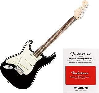 Fender American Professional Stratocaster Left-handed - Black w/Rosewood Fingerboard