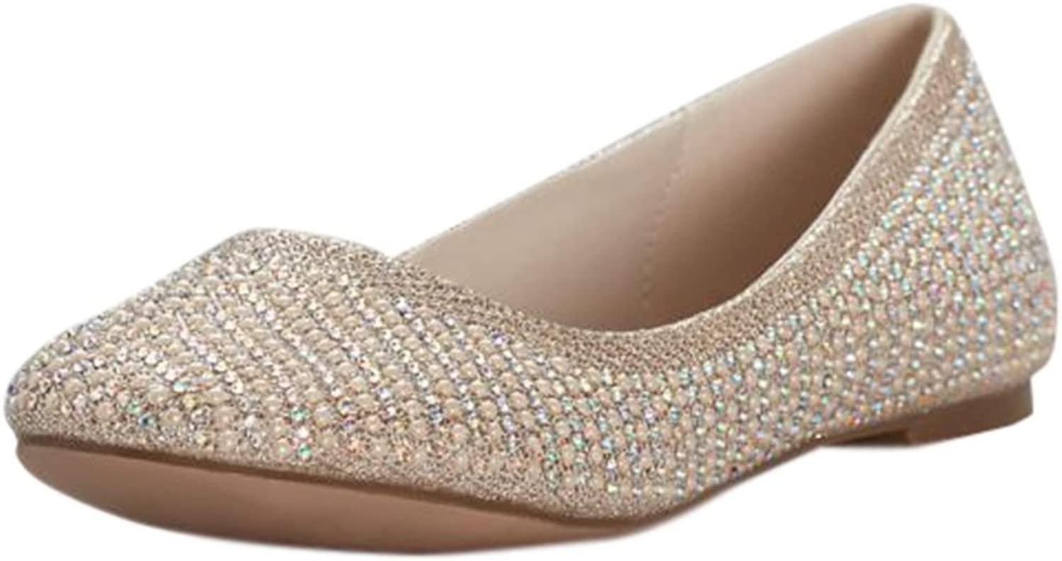 Pearl and Crystal Ballet Flat Style BBABA14
