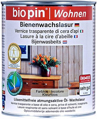 Biopin Bienenwachslasur farblos 2,5L