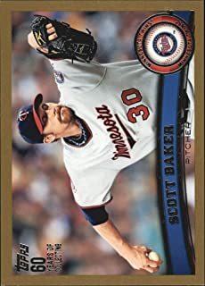 2011 Topps Gold #354 Scott Baker Minnesota Twins MLB Baseball Card /2011 NM-MT