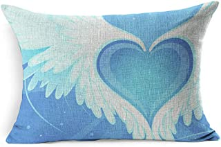 soaring heart pillows