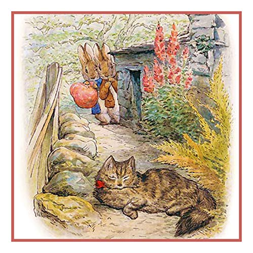 Orenco Originals Peter and Benjamin See a Cat Beatrix Potter Counted Cross Stitch Pattern