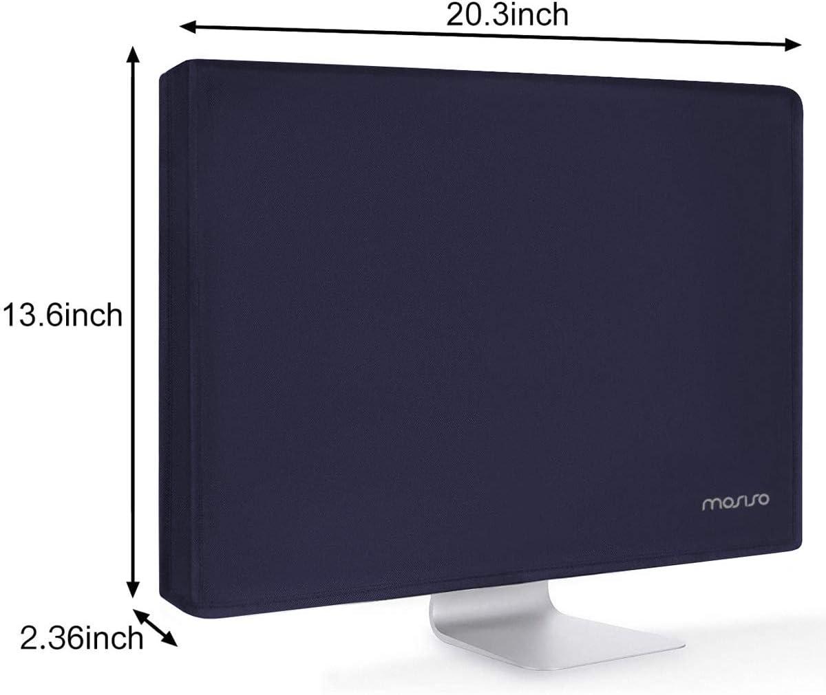 21 Pouces LCD//LED//HD Panneau daffichage Protection /Écran Anti-Statique Compatible avec 19-21 Pouces PC et TV Rose 20.5 MOSISO Housse Moniteur Polyester Anti-poussi/ère 19,19.5 20