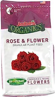 کود دانه دانه ای گل و گلاب از جنس 09423 Jobe با کیسه 4 پوندی Biozome