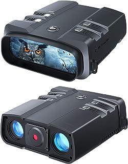 VABSCE 2021 Night Vision Binoculars, 1080p Full HD, 1640ft Viewing Range, Superior 5W Infrared, High Sensitivity COMS Sens...