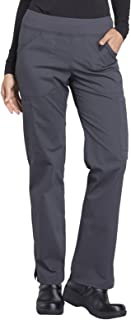 WW Professionals Mid Rise Straight Leg Pull-on Cargo Pant