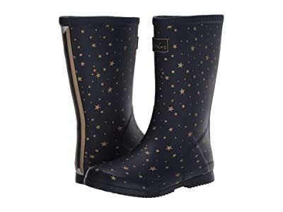 Joules Kids Roll Up Welly (Toddler/Little Kid/Big Kid) (Star Gazing) Girl