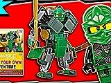 Clip: Lloyd's Green Mech - Dk Book: Build Your Own Adventure