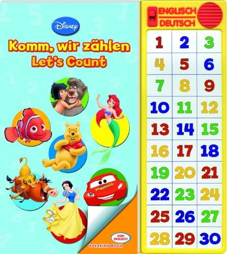Disney - Komm, wir zählen / Let´s Count, Lern Englisch / Speaking Buch, Buch mit zweisprachiger Soundleiste
