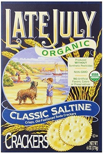 LATE JULY CRACKER SALTINE ROUND OZ Cheap unisex bargain PK- ORG 6