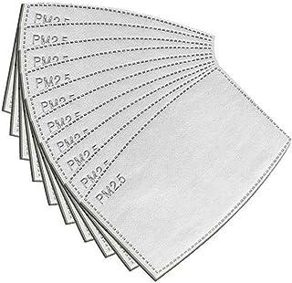 Eaglcter Filtros de carbón activado PM2.5, filtro de carbón activo protector de 5 capas, filtro de respiración reemplazabl...