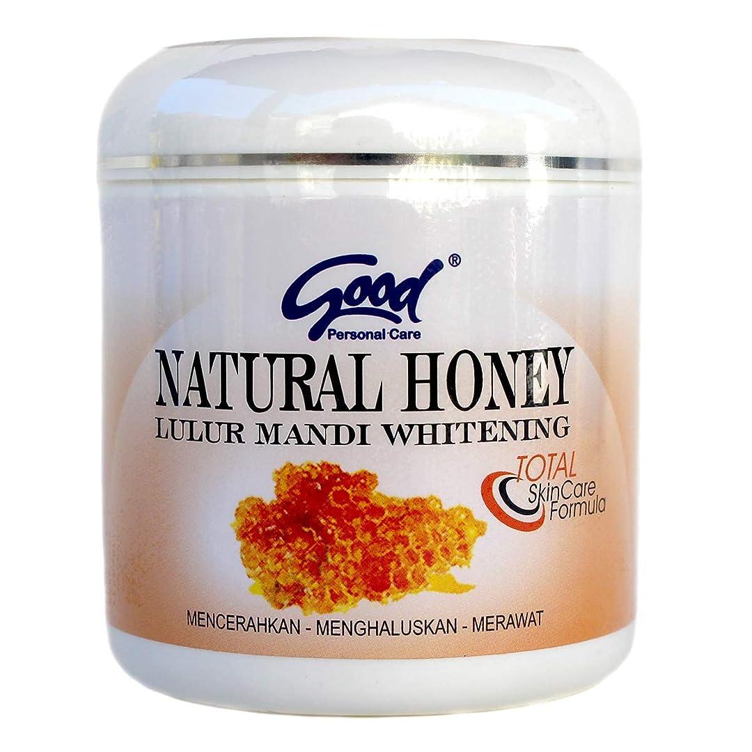 入射と取り組むgood グッド インドネシアバリ島の伝統的なボディスクラブ Lulur Mandi マンディルルール 200g Natural Honey ナチュラルハニー [海外直送品]