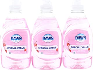 3 Pk. Dawn Ultra Fuji Cherry Blossom Scent Dishwashing Liquid 8 oz (24 Fl. Oz Total)