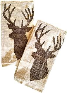 deer dish towels