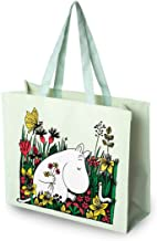 Moomin Meadow Tote Reusable Shopping Bag Waterproof Gift Official Licensed