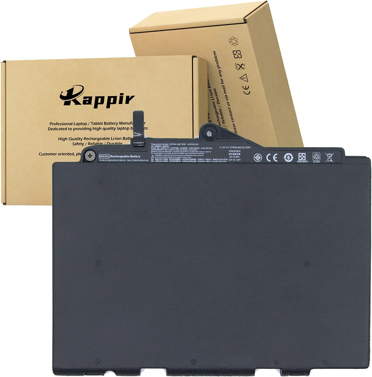 BOWEIRUI SN03XL Topics on TV 11.4V 42.2Wh 3700mAh Batter Clearance SALE! Limited time! Replacement Laptop