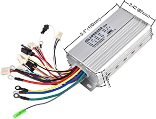 RUHUO DC 36V 500W Brushless Motor Controller 12 Mosfet w/Reverse for Electric ATV 4 Wheeler Tricycle Wheelchair