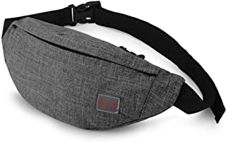 Tinyat Travel Fanny Bag Waist Pack Sling Pocket Super Lightweight For Travel..