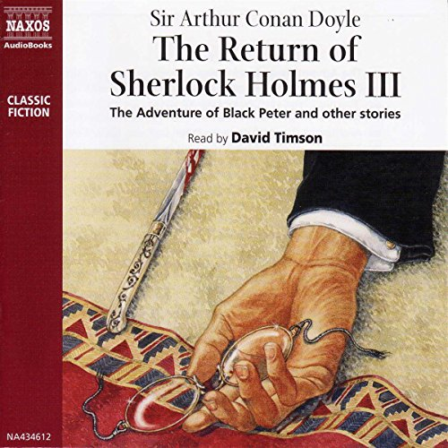 The Return of Sherlock Holmes III audiobook cover art