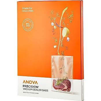 Anova Culinary Anova Pre-Cut Sous Vide Vacuum Sealer bags, One size, Clear,ANVB01