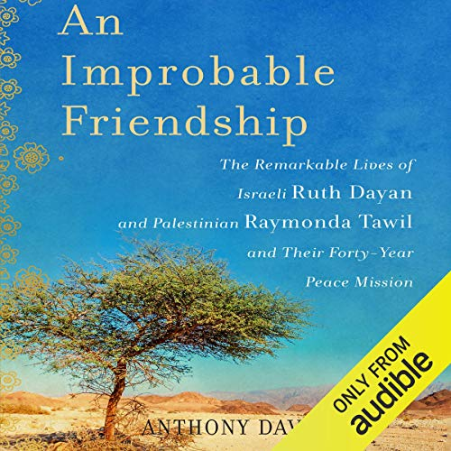 An Improbable Friendship audiobook cover art