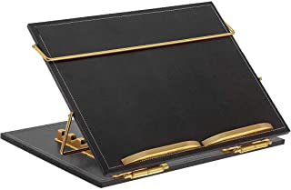VeleSolv Leather Desk Organizer, Leather Table top for Laptop/Sketching/Writing Desktop Table - (Black)(15 * 21)