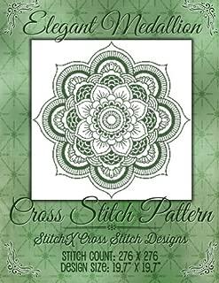 Elegant Medallion Cross Stitch Pattern
