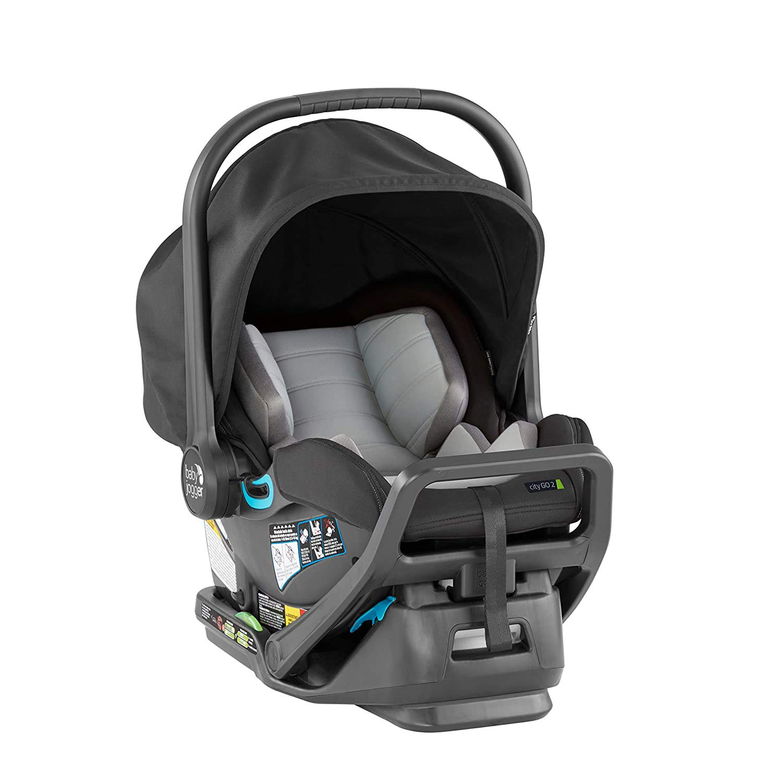 Baby Jogger City GO 2 Infant Car Seat, Slate, Gray