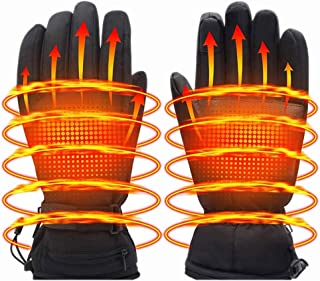 Image of Thermal Warm Men's and Women's Winter Rechargeable Heating Gloves, Sports Outdoor Warm Gloves, Suitable for Skiing, Cycling, Cycling, Hunting and Fishing (Excluding Batteries)
