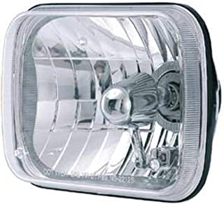 Rampage Products 5081127 Universal Clear 200mm Rectangular Halogen Headlight Conversion Kit - Each