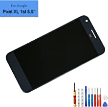 for Google Pixel XL 1st 5.5-Inch Amoled Touch Screen Display Digitizer Replacement LCD Parts + Tools (Black)