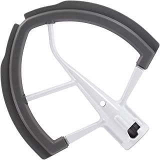 Flex Edge Beater for Kitchen Aid Mixer 6 Quart Bowl-Lift Stand Mixer Bowls, Flat Beater Blade with Flexible Silicone Edges Bowl Scraper