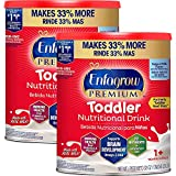 Enfagrow Premium Toddler Nutritional Milk Drink, Natural Milk Flavor Powder 32 oz-Omega 3 DHA, Prebiotics,Non-GMO, Pack of 2 (Formerly Toddler Next Step, Packaging May Vary) From the Makers of Enfamil