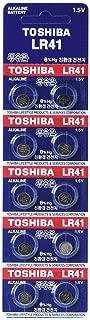 Toshiba LR41 Battery 3V Battery 1.5V Alkaline (10 Batteries)