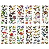 SAVITA Dinosaurier Aufkleber 3D Puffy Aufkleber für Kinder und Kleinkinder (über 300 Stück), 24...