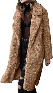 Fossen MuRope Abrigos Mujer Rebajas Elegantes - Chaqueta Abrigos Mujer Invierno Tallas Grandes con Bolsillo, Parkas Sudade...